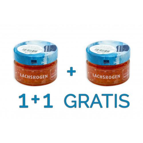 Icre Somon Salbatic Royal Greenland 100g 1+1 GRATIS